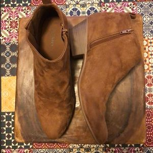 Old Navy Suede Booties Size 9